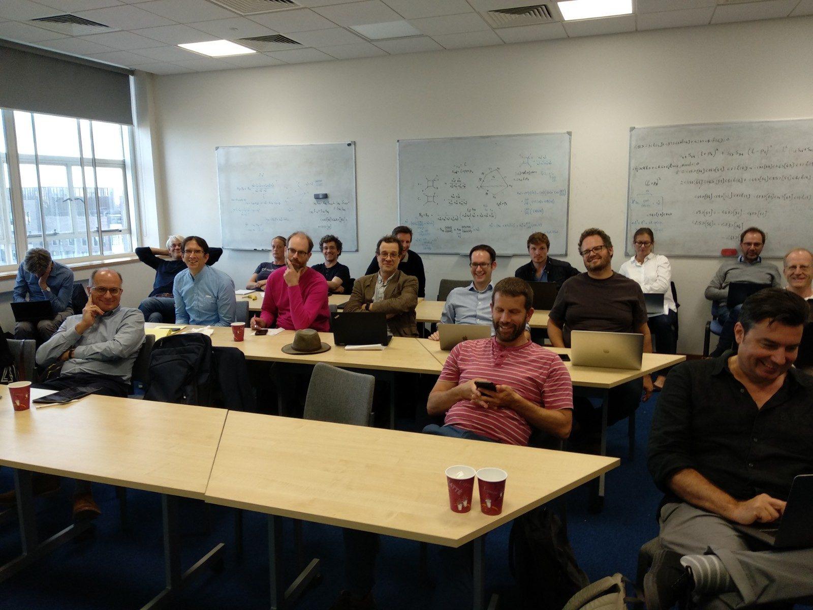 SAGEX consortium members at the kick-off meeting.