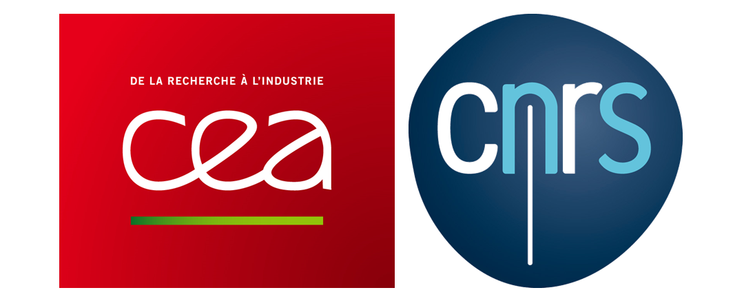 CEA and CNRS logos